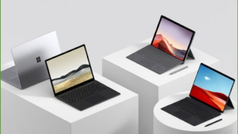 Stap over op Surface en Microsoft 365